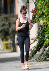 Dakota Johnson - Out in LA 8/20/18