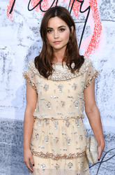 Jenna Coleman- The Serpentine Gallery Summer party in London 6/19/18