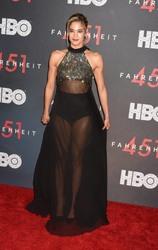 Sofia Boutella - 'Fahrenheit 451' Premiere, NYU Skirball Center, New York City, 5/8/2018