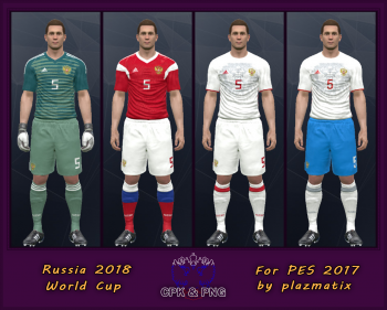 the latest 35bd0 e907a PES 2017 - Kits for the national team of Russia on football ...