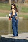 Selena Gomez at Lake Balboa park in Encino 02/02/2018a3e927737638613