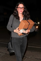 Courteney *** - Out for dinner in West Hollywood 2/15/18