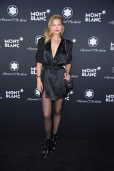 Toni Garrn - Montblanc #Reconnect 2 The World Party in Berlin 4/24/19
