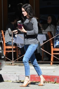 Courteney Cox - Out for lunch in Beverly Hills 3/13/19