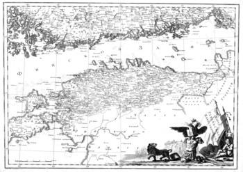 Российский атлас из сорока четырех карт / Александр Вильбрехт (1792) JPEG