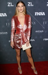 Nina Agdal - Footwear News Achievement Awards in New York CityNYC 12/4/18