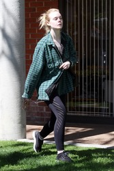 Elle Fanning - Out in Studio City 3/15/18
