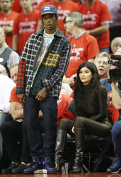 Kylie Jenner - Houston Rockets vs Golden State Warriors Game 7 5/28/18