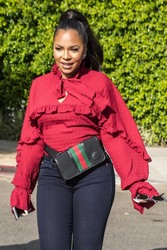 Ashanti - Getting coffee in West Hollywood 3/20/18