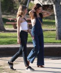 Selena Gomez at Lake Balboa park in Encino 02/02/201886bf52737637883