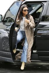 Kourtney Kardashian - Attending church in LA 3/3/19