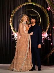 Sophie Turner - At wedding reception in India, New Delhi - 04 Dec 2018