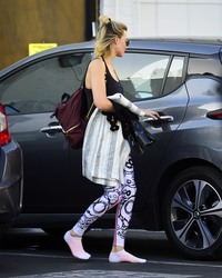 Margot Robbie - Leaving the gym in LA 6/11/18