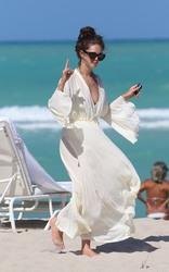 Emily DiDonato - At the beach in Miami 5/4/18
