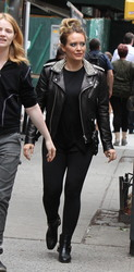 Hilary Duff - Out in NYC 5/23/18