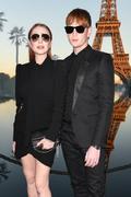Lindsay Lohan - Saint Laurent Fashion Show in Paris 9/25/2018 c01cbd985774514