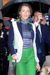 Blake Lively - Arriving at Live with Kelly and Ryan in NYC 9/10/18