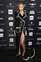 Romee Strijd - Harper's Bazaar Icons Party in NYC 9/7/18