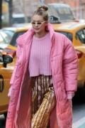 Gigi Hadid - Out in NYC 1/9/18