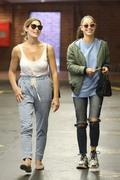 Ashley Greene & Cara Santana - At a nail salon in Beverly Hills 6/6/18