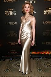Amber Heard - L'Oréal Paris Women of Worth Celebration in NYC 12/5/18