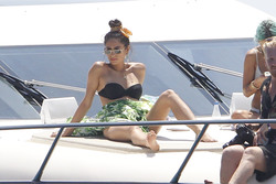 Shay Mitchell - Bikini candids in Spain 6/26/18