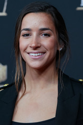 Aly Raisman at the 8th Annual NFL Honors in Atlanta - 2/2/19