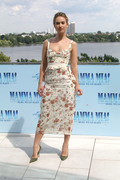 """Lily James - """"Mamma Mia! Here We Go Again"""" Photocall in Germany 7/12/18"""