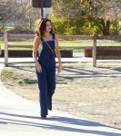Selena Gomez at Lake Balboa park in Encino 02/02/201829d29b737641603