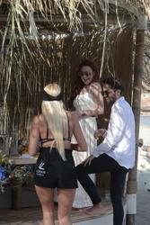 Lindsay Lohan - At a resort in Mykonos 5/26/18