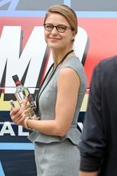 Melissa Benoist - Filming 'Supergirl' in Vancouver 8/13/18