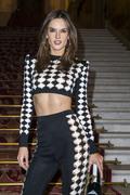 Alessandra Ambrosio - Balmain Fashion Show in Paris 9/28/18