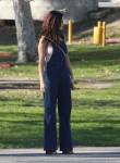 Selena Gomez at Lake Balboa park in Encino 02/02/2018a47810737637673