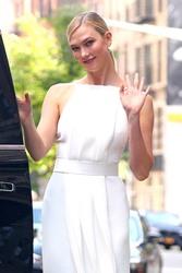 Karlie Kloss - Leaving her hotel in NYC 6/4/18