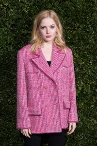 Ellie Bamber - The Charles Finch & Chanel Pre-BAFTA's Dinner in London 2/9/19