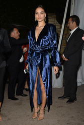 Shanina Shaik - WME Oscar Party in LA 3/2/18