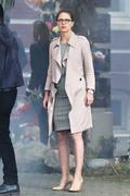 Melissa Benoist - Filming 'Supergirl' in Vancouver 8/30/18