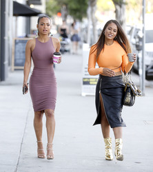 Christina Milian - with her lookalike sister Danielle Flores look stunning in West Hollywood - 11.04.18 - x37