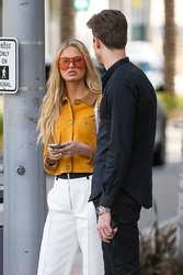 Romee Strijd - Out in Venice, CA 2/28/18