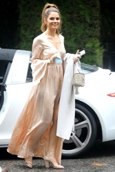 Maria Menounos -  Attending Khloe Kardashian's baby shower in Beverly Hills 3/10/18