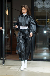 Bella Hadid - Leaving her apartment in NYC 9/9/18