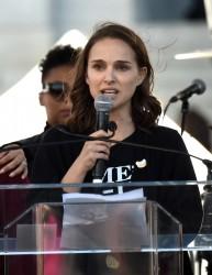 Natalie Portman - 2018 Women's March in LA 1/20/18