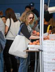 Rachel McAdams - At The Farmers Market in Studio City 9/19/18