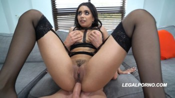 Aaliyah Hadid is a BEAST..1st ever DP! Took it like a Fucking pro MUST WATCH AA005 (2018) 2160p