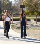 Selena Gomez at Lake Balboa park in Encino 02/02/201812b7cb737641303