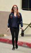 Julianne Hough - Leaving the gym in LA 4/29/18