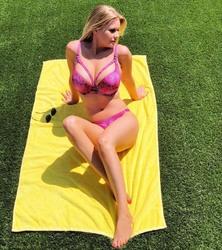 Carrie Keagan in a Bikini - 8/11/18 Instagram