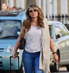Elizabeth Hurley - Out in London 5/11/18