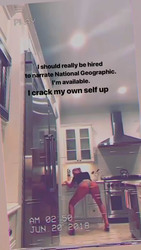 Iggy Azalea Twerking in Her Kitchen - 4/20/18 Instagram Stories