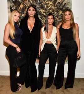 Kourtney Kardashian - 'Street Dreams' VIP Exhibit in LA 11/16/18